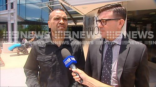 "Mundine said he ""sincerely didn't know"" that he had accumulated too many demerit points on his licence and believed he wasn't breaking the law (Supplied)."