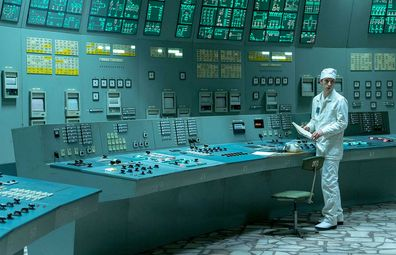 Chernobyl control room on HBO TV series