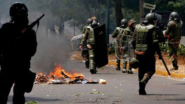 Russia confirms its military personnel are in Venezuela