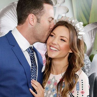 Sam Frost and Sasha Mielczarek