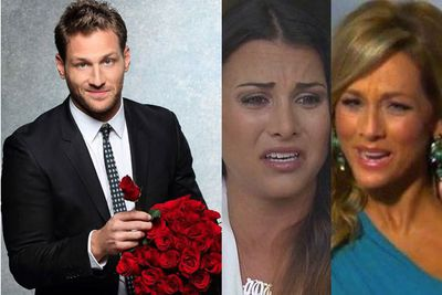 <br/><br/><br/>He sleazed all over a sexy smorgasbord of women, openly mocked the gay community and was repeatedly called an 'a------' by contestants who chose to eliminate themselves… due to his douchie ways. <br/> <br/>Which is why EVERYBODY believes <i>Bachelor</i> US star Juan Pablo Galavis is the worst single man we've ever seen at a rose ceremony. <br/><br/>From Andi's attack to Clare's awkward rejection, check out why Juan went from STUD to DUD… <br/>