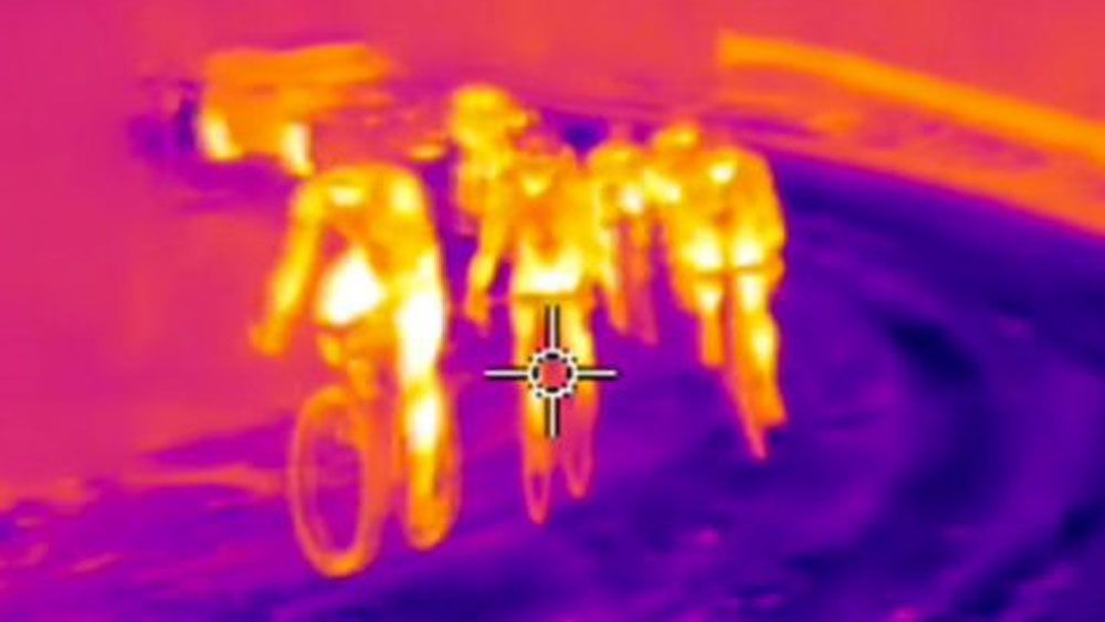 Thermal imaging 'proves cyclists using motors'