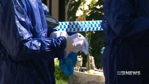 """The boy's stepfather was stabbed 25 times, which the judge agreed was """"excessive"""". (9NEWS)"""