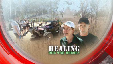 Healing our war heroes