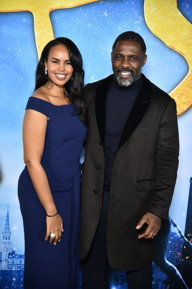 Sabrina Dhowre, Idris Elba, Cats, premiere, December 16, 2019 in New York City.