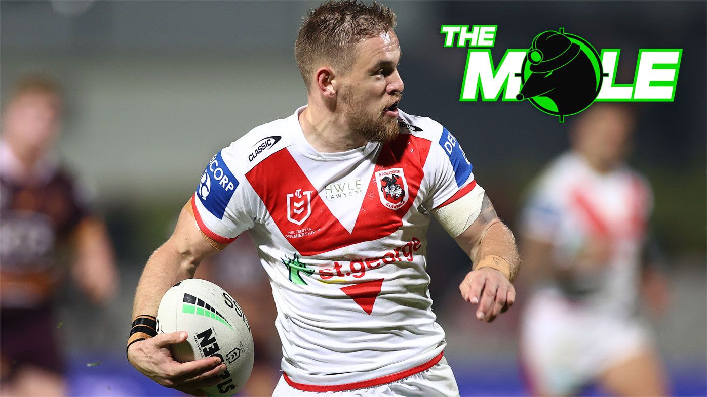 Matt Dufty in open space against the Broncos.