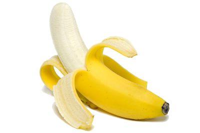 Bananas are high in fibre