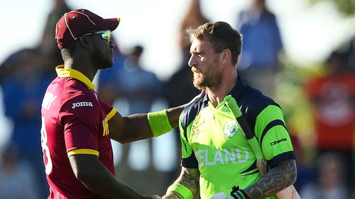 Darren Sammy and John Mooney fined for bad language during Ireland's win at Cricket World Cup