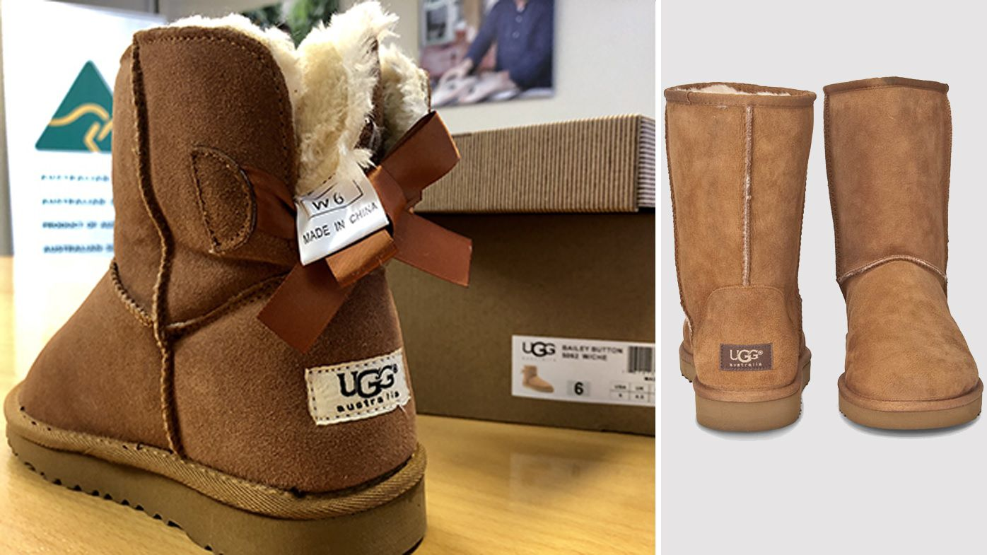 42c11078b15 Fake cowhide ugg boot websites shut down