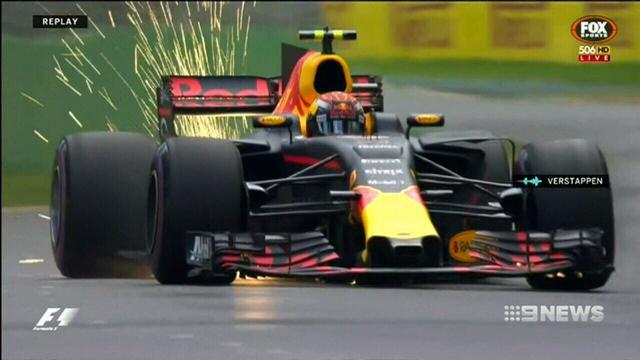 Hamilton on GP pole as Ricciardo crashes