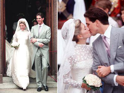 Crown Prince Pavlos Of Greece and Princess Marie-Chantal, 1995