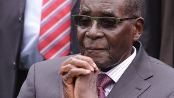 Zimbabwe President Robert Mugabe, the world's oldest leader, is turning 91 this month. (Getty)