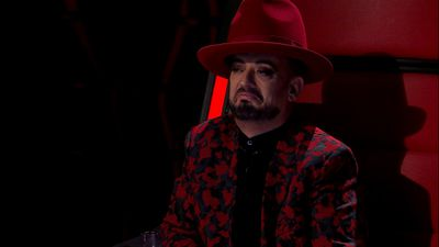 Boy George defended the performance