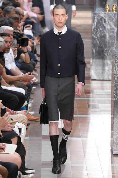 Thom Browne, menswear, spring '18, Paris<br /> <br />