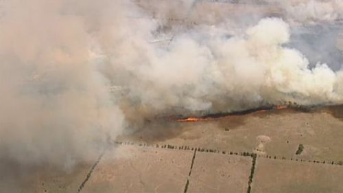 Police fear a blaze that tore through 1240 hectares of land in Little River was deliberately lit.