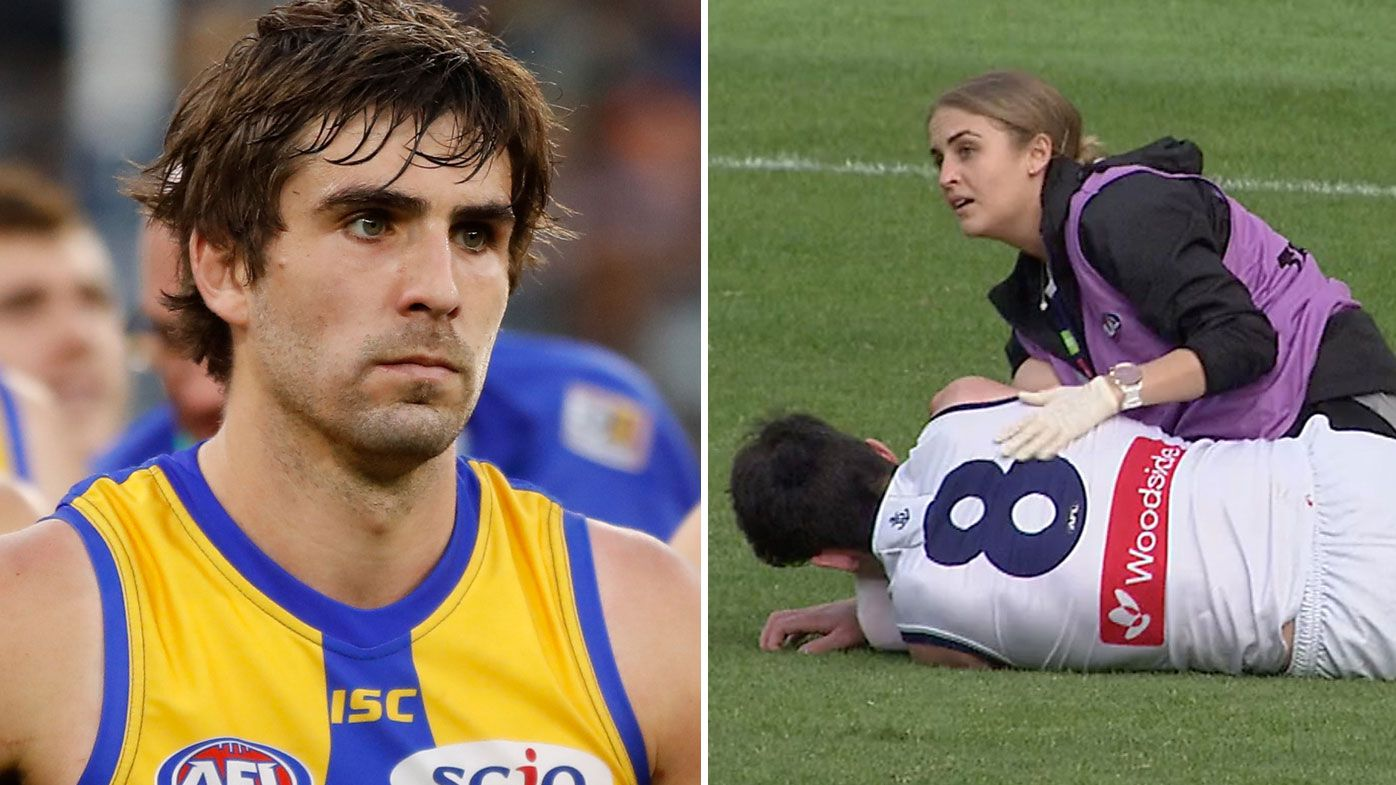 Police to make 'assessment' of Andrew Gaff's king hit on Andrew Brayshaw