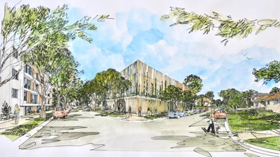 Nine homes would be bulldozed to build the four-story commuter carpark.