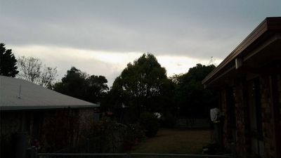 Clouds gather over Brisbane. (Karnie Taylor)