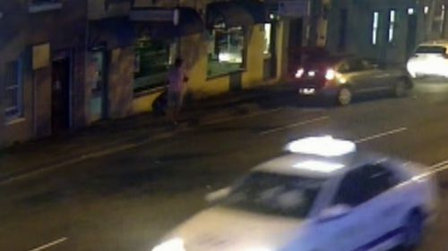 The first incident of the night happened in Ultimo at 9.30pm. A man was car-jacked by another man with a knife.