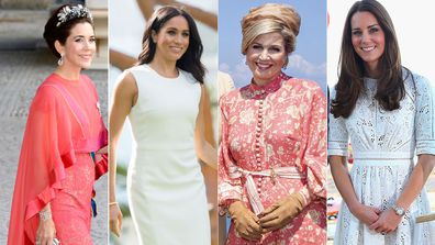 Royals wearing Australian fashion brands