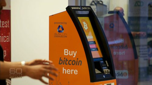 An Auscoin ATM. (60 Minutes)