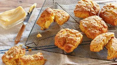 "Recipe:&nbsp;<a href=""http://kitchen.nine.com.au/2017/08/04/15/25/curtis-stones-kabocha-pumpkin-scones"" target=""_top"">Curtis Stone's kabocha pumpkin scones</a>"