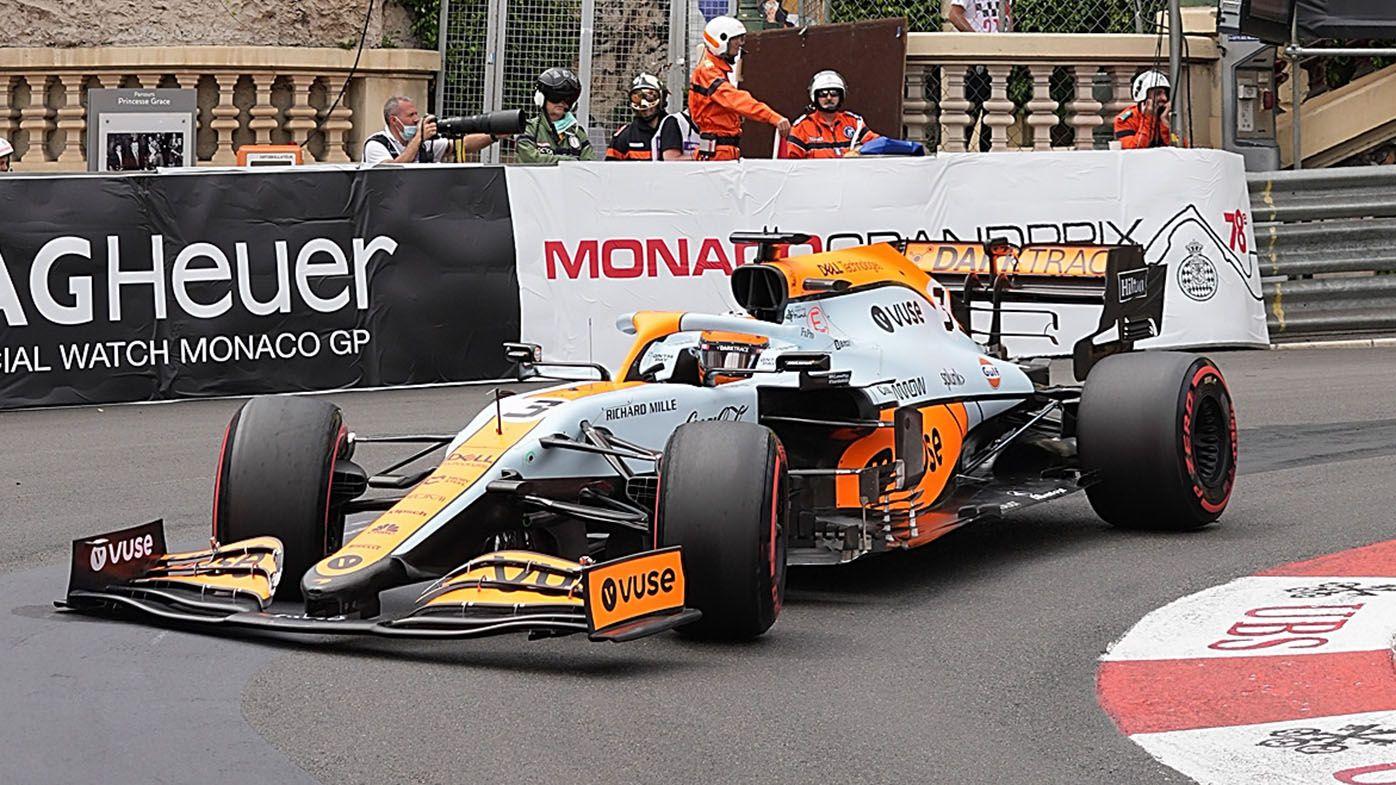 'Upset' Daniel Ricciardo 12th in F1 Monaco GP qualifying, Charles Leclerc takes pole