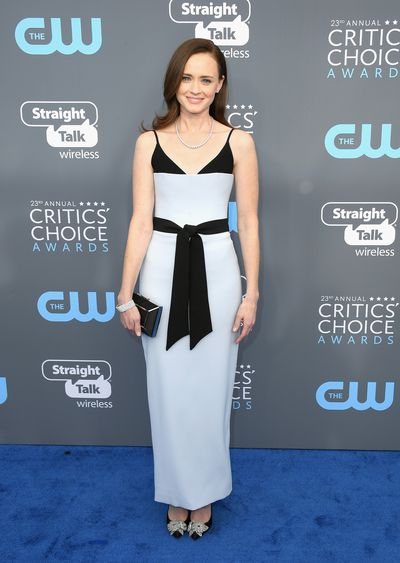 Actress Alexis Bledel at the 2018 Critics Choice Awards