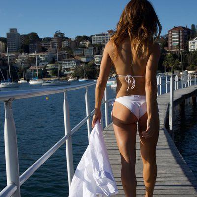 Ada Nicodemou embraces the warmer weather