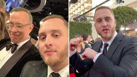 Golden Globes 2020: Tom Hanks' son filmed speaking with Caribbean accent