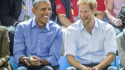 Prince Harry and Barack Obama's bromance at the Invictus Games, September 2017