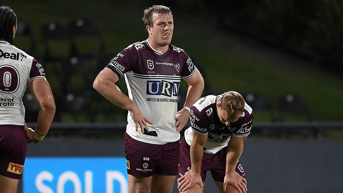 Melbourne Storm put a dagger through Manly's finals hopes