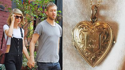 "Calvin Harris and Taylor Swift have celebrated one year of dating in the wholesome manner to which Swift is accustomed: with baked goods and an engraved locket. Swift uploaded an image of her new keepsake to Instagram overnight, captioned with a love heart and the words ""3.6.15 One year down!"". While this may seem like the stuff of 13 year-old dreams, a bevy of vintage and vintage-inspired trinkets have quietly launched a comeback, with a new wave of designers giving your school-yard favourites some serious fashion chops.    <br /><br />Layer family heirlooms with contemporary trinkets for a fresh take, or pare the look back with a classic cut blazer for a grown up feel.<br /><br />School days might be over, but these charms continue to charm."