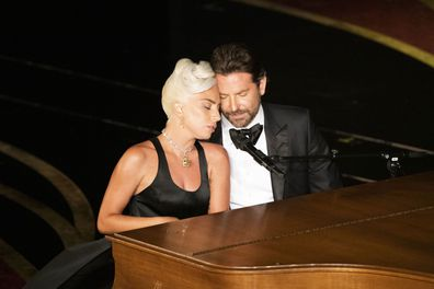 Irina Shayk reacts to Bradley Cooper and Lady Gaga's Oscars 2019 performance of Shallows