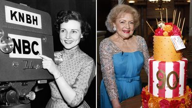Betty White, life in photos