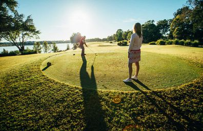The Gold Coast is a golfing Mecca - especially for high end golf at courses like Links Hope Island