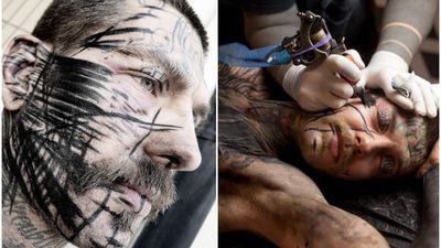Tattooists proud to cause pain with 'borderline torture'