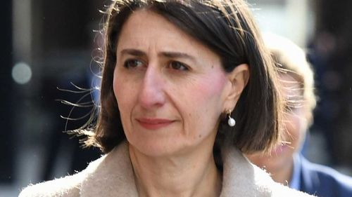 Gladys Berejiklian has ruled out allowing councils to de-merge.
