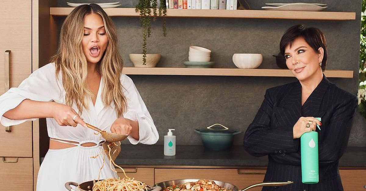 Kris Jenner and Chrissy Teigen launch new home cleaning and self-care line  - 9Celebrity