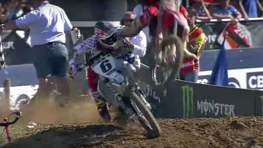 Motorsport: Motocross rider takes spoils of painful victory