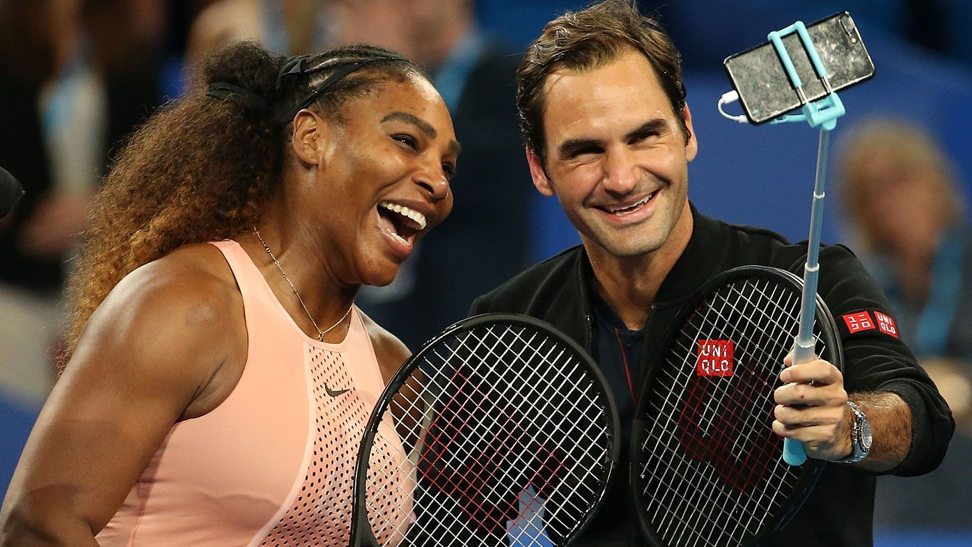Federer Serena