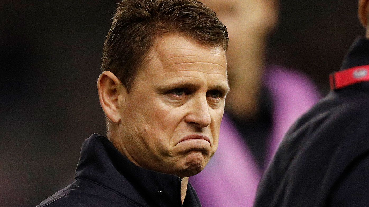 Brendon Bolton admits attitude towards adversity played a role in eventual Blues axing