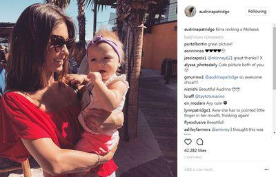 <p>Actress Audrina Patridge welcomed her baby girl Kirra Max Bohan with husband Corey Bohan, in June 2016.</p>