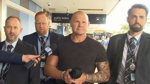 Broadbeach bikie brawl identity extradited from NSW.