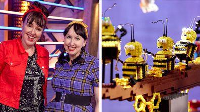 LEGO Masters 2021 teams builds Sarah and Fleur
