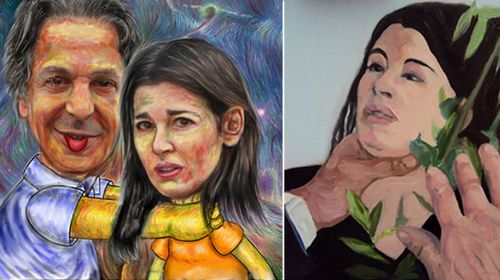 Nigella choking art for sale at Saatchi gallery