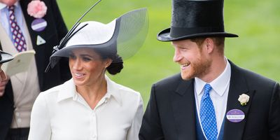 Meghan and Harry at Royal Ascot 2018