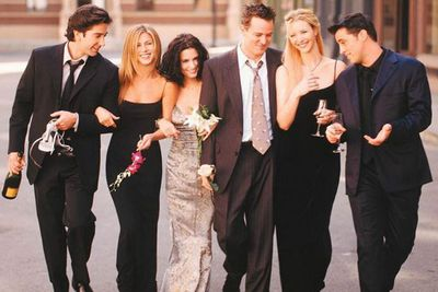 The <i>four</i> best friends that anyone could ever have?<br/><br/>Originally the show was going to focus on Monica, Ross, Rachel and Joey... leaving Phoebe and Chandler as supporting characters. <br/>