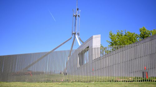 Parliament House is undergoing a security upgrade. (AAP)