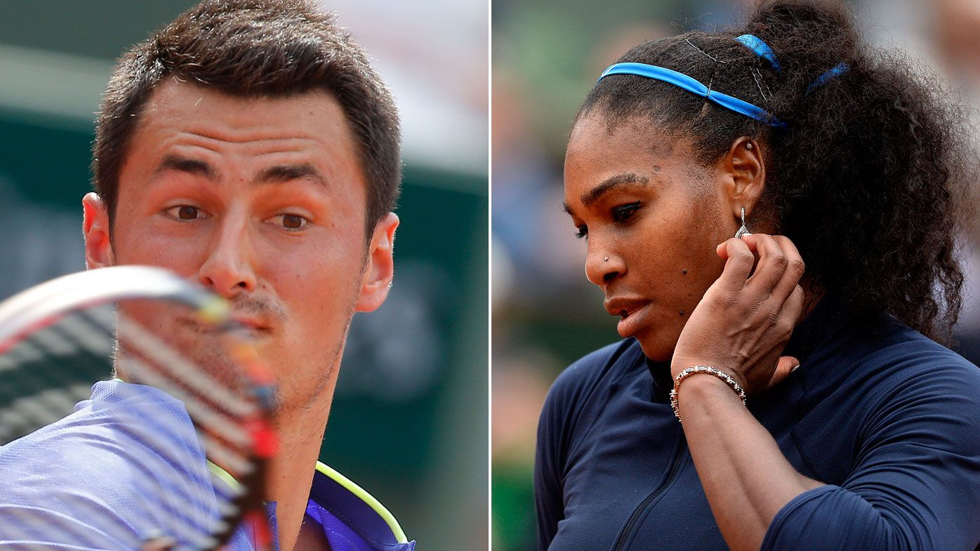 Serena aids Tomic's French Open chances